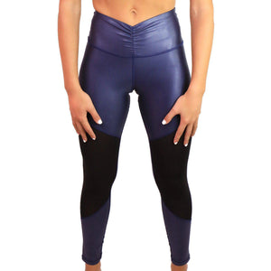 LEATHER EFFECT LEGGING Sportswear Leggings Yoga Pants ADARABYCAROLB Activewear