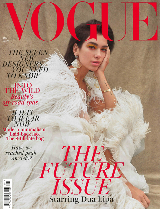 The January Issue of British Vogue