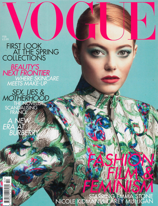The February Issue of British Vogue