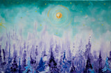 """Tanzanite Dreams"" 36x48 Original Oil on Canvas"