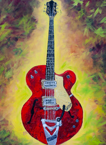 """Tennessee Rose"" 48x36 Original Oil Painting"