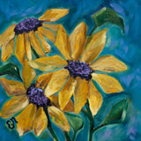 "Sunflower Painting titled ""Late Summer's Dream"""