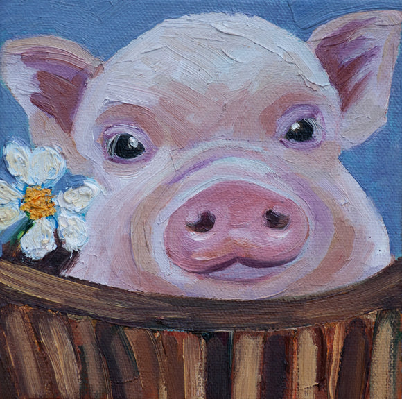 Baby Pig Painting
