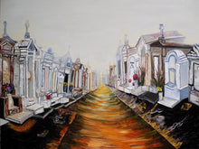 "Load image into Gallery viewer, Original oil painting titled ""Esplanade Dawn"" 30"" x 40"""