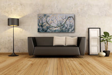 "Load image into Gallery viewer, Original oil painting titled ""Fearlessness"" 24"" x 48"""