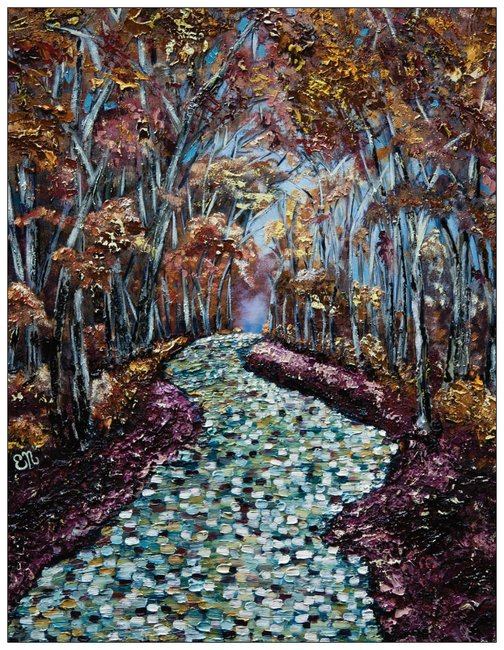 Autumn Path greeting cards