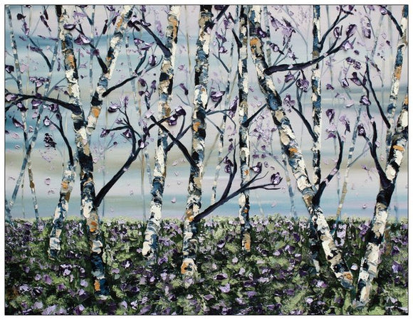 Birch Trees greeting cards