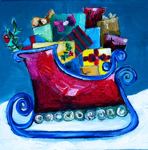 """Toy Sleigh"""