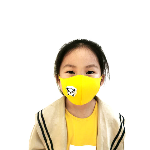 SPONDUCT Child Sponge Mask With Valve