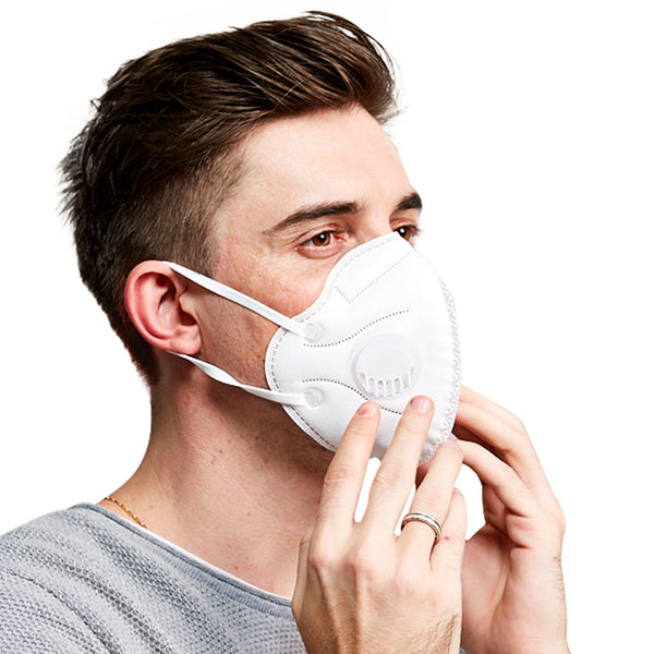 anti bacteria kn95 breathing valve mask