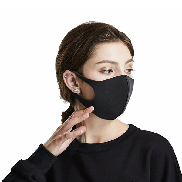 Sponge Earloop Anti Dust Face Mouth Particulate Respirator Mask with Breathing Valve Filter