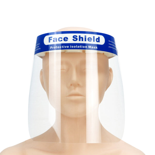 Reusable Anti fog PET Face Cover Shield.