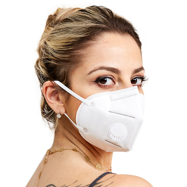 Kn95 mask 3D stereo artificial face stereo cutting