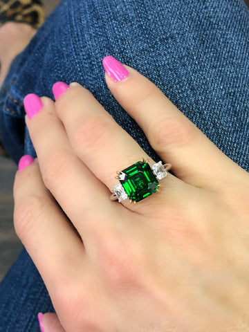 MDR Atelier Emerald Cut Engagement Ring