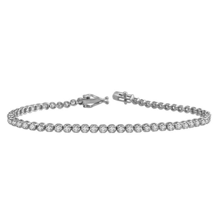 Miss Diamond Ring classic jewelry tennis bracelet