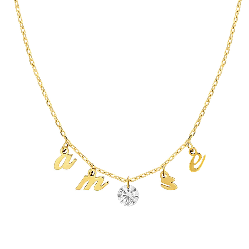 Amore Diamond Necklace