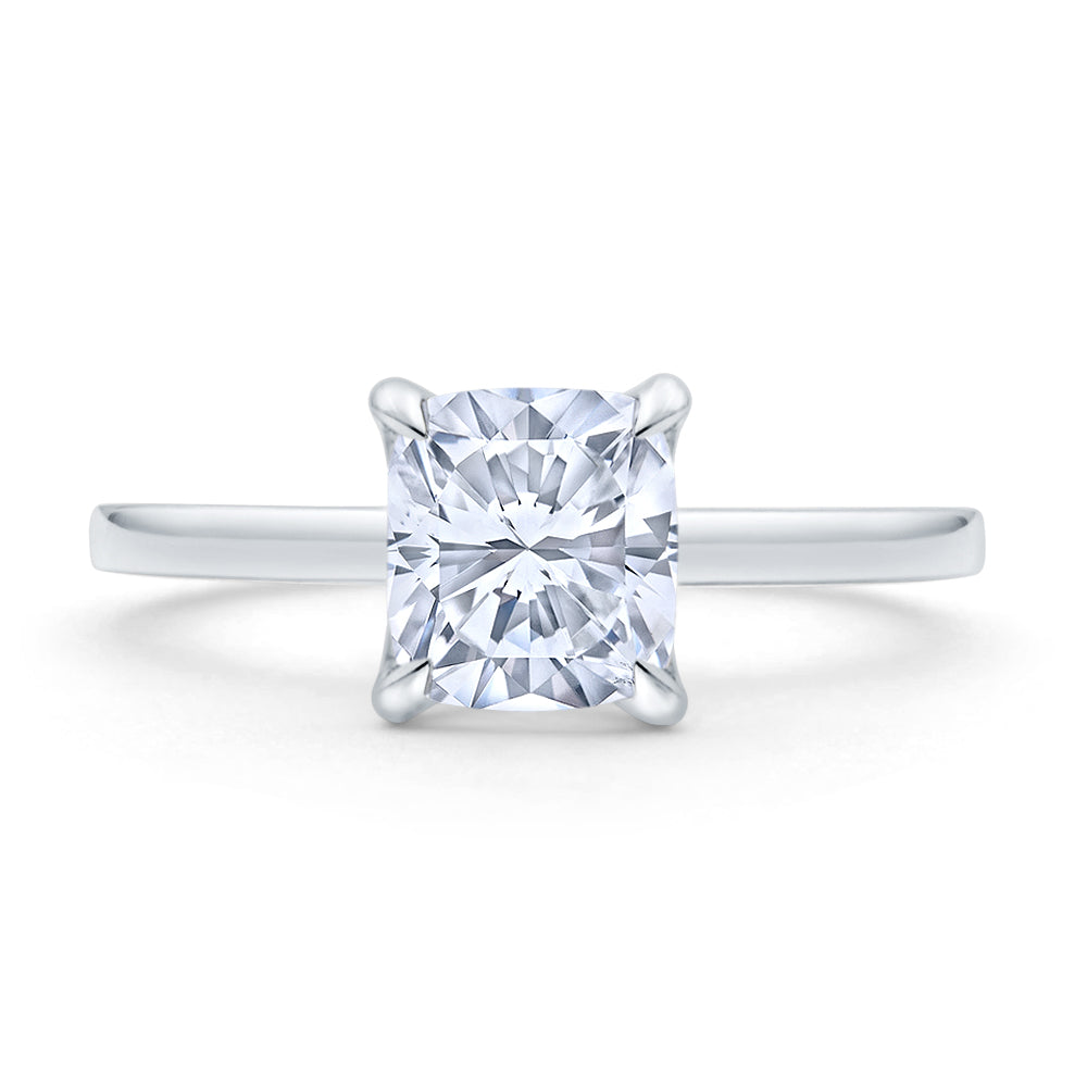 Custom Brilliant Diamond Engagement Ring