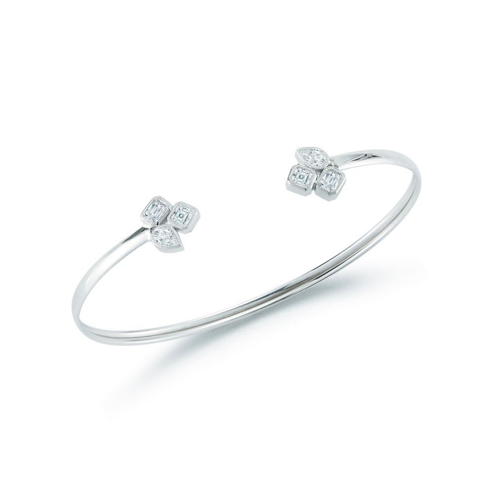 'Bearcat' Diamond Bangle
