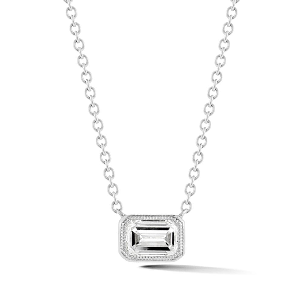 Civilised diamond pendant