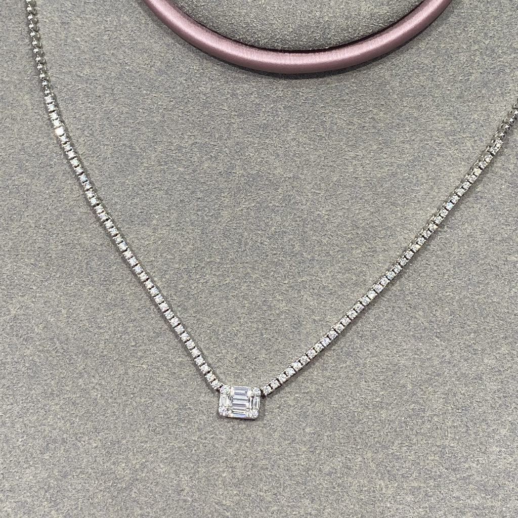 'Charmed I'm Sure' Diamond Choker