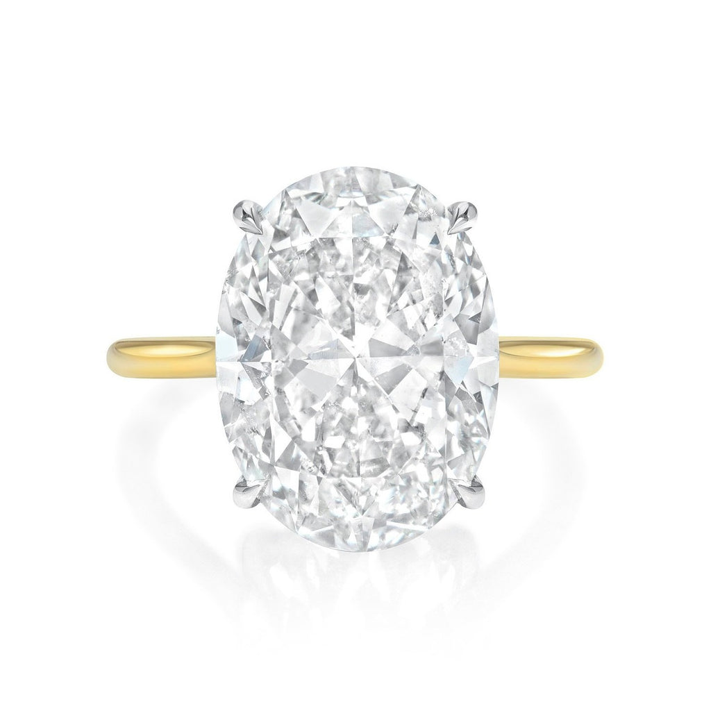 Oval Cut Diamond Engagement Ring
