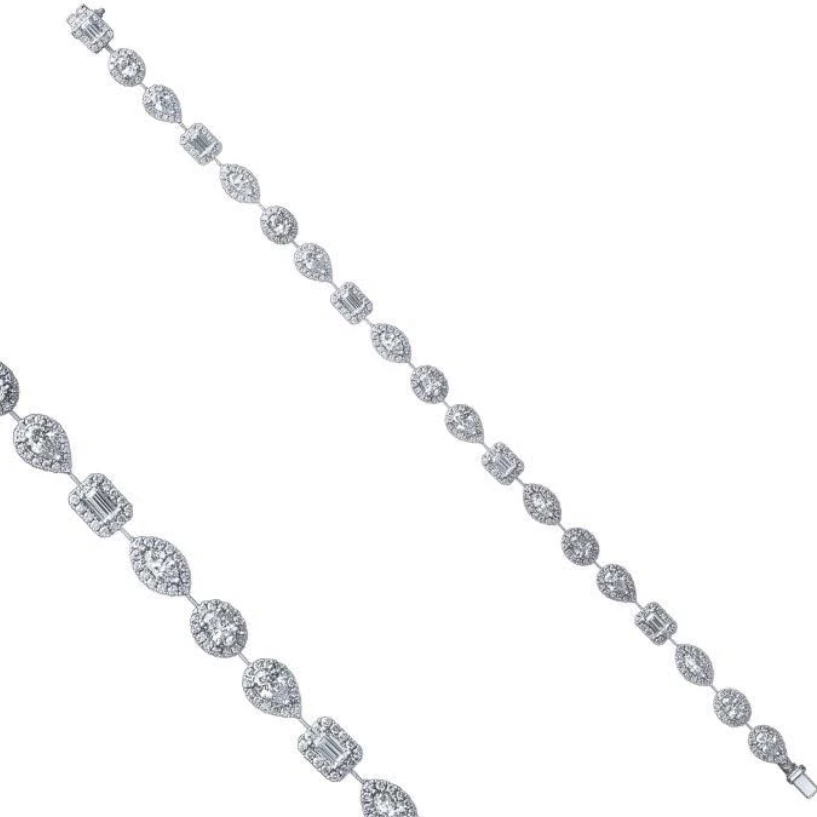 'Advantage' 5 carat Diamond Tennis Bracelet