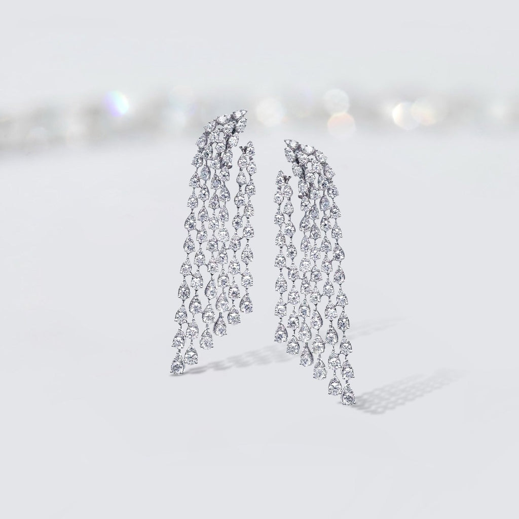 'Cascade' Chandelier Earrings