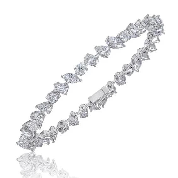 Miss Diamond Ring Tennis Bracelet