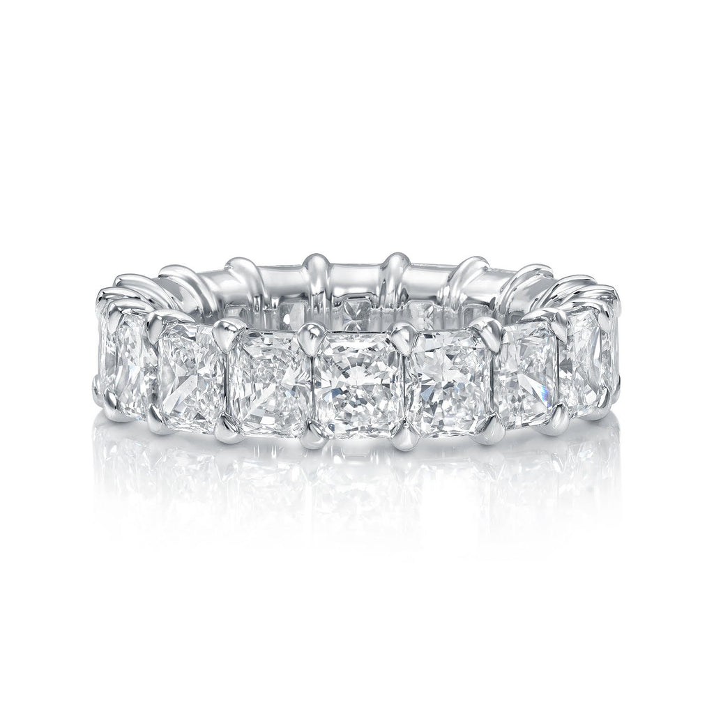 Radiant Cut Diamond Eternity Ring