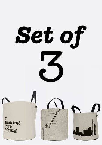 Set of 3 BucketBags