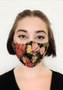 BlackCoffee Brushstrokes FaceMask