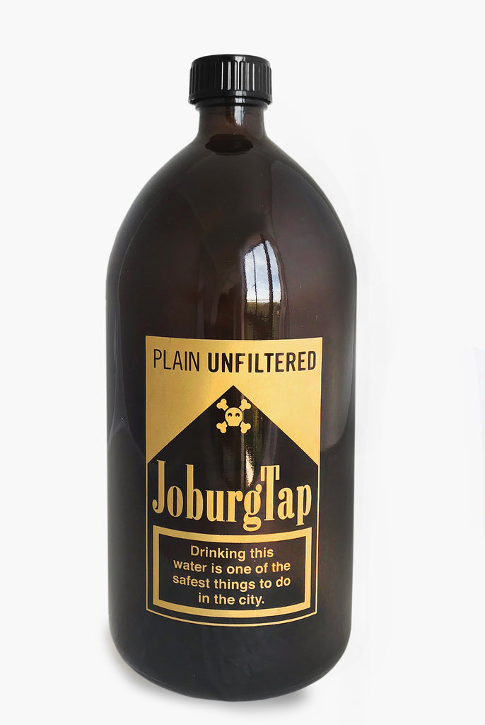 JoburgTap WaterBottle big and gold