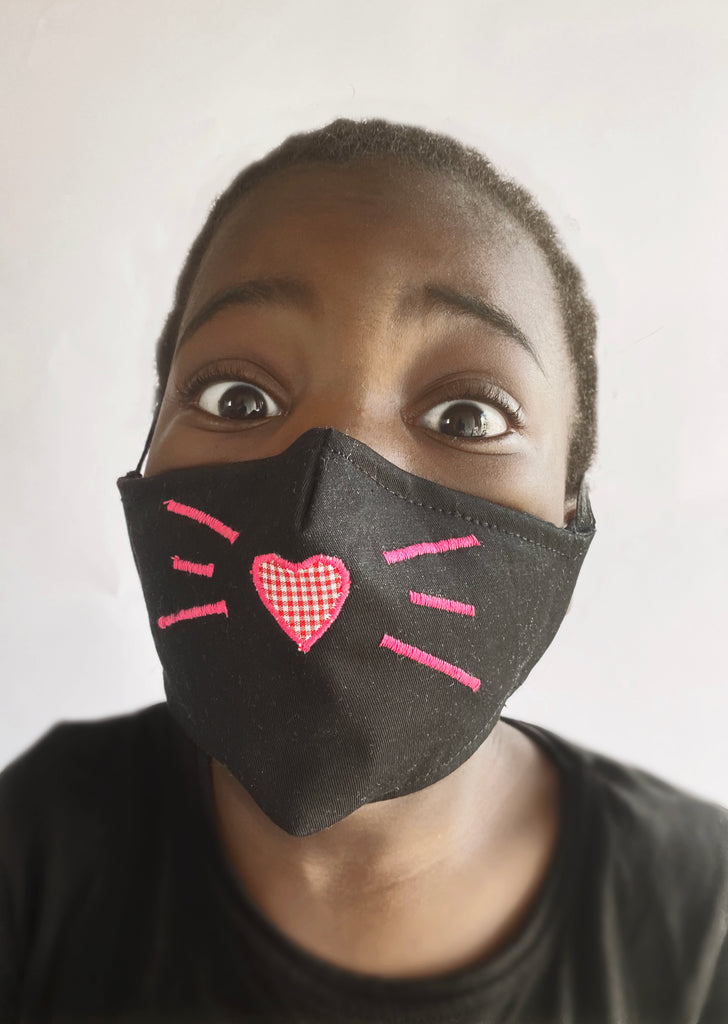 Kids FaceMask - KittyLove