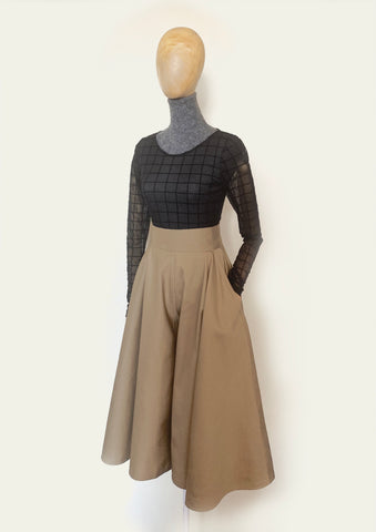 BlackCoffee Circle Culotte