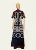 BlackCoffee Geo Maxi Dress
