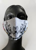 BlackCoffee Imprint FaceMask - white