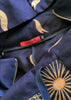 BlackCoffee Labyrynth Parka - navy flame