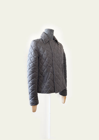 BlackCoffee Mens Quilted Jacket