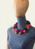 BlackCoffee Ribbon Necklace - multicoloured