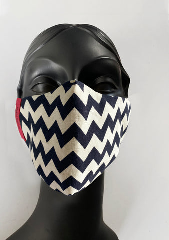 BlackCoffee ZigZag FaceMask