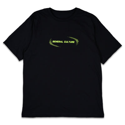 Neon Font Tees SS / Black