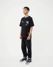 Transparent Pocket Tees / Black