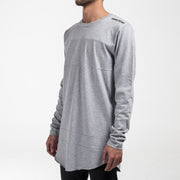 Paneled LS / Grey