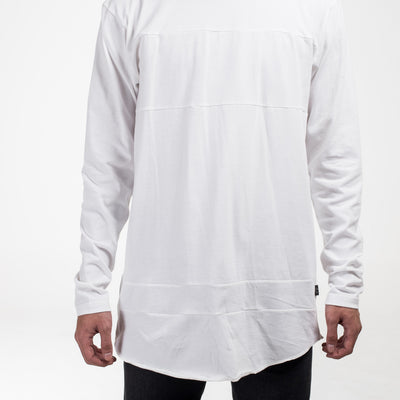 Paneled LS / White