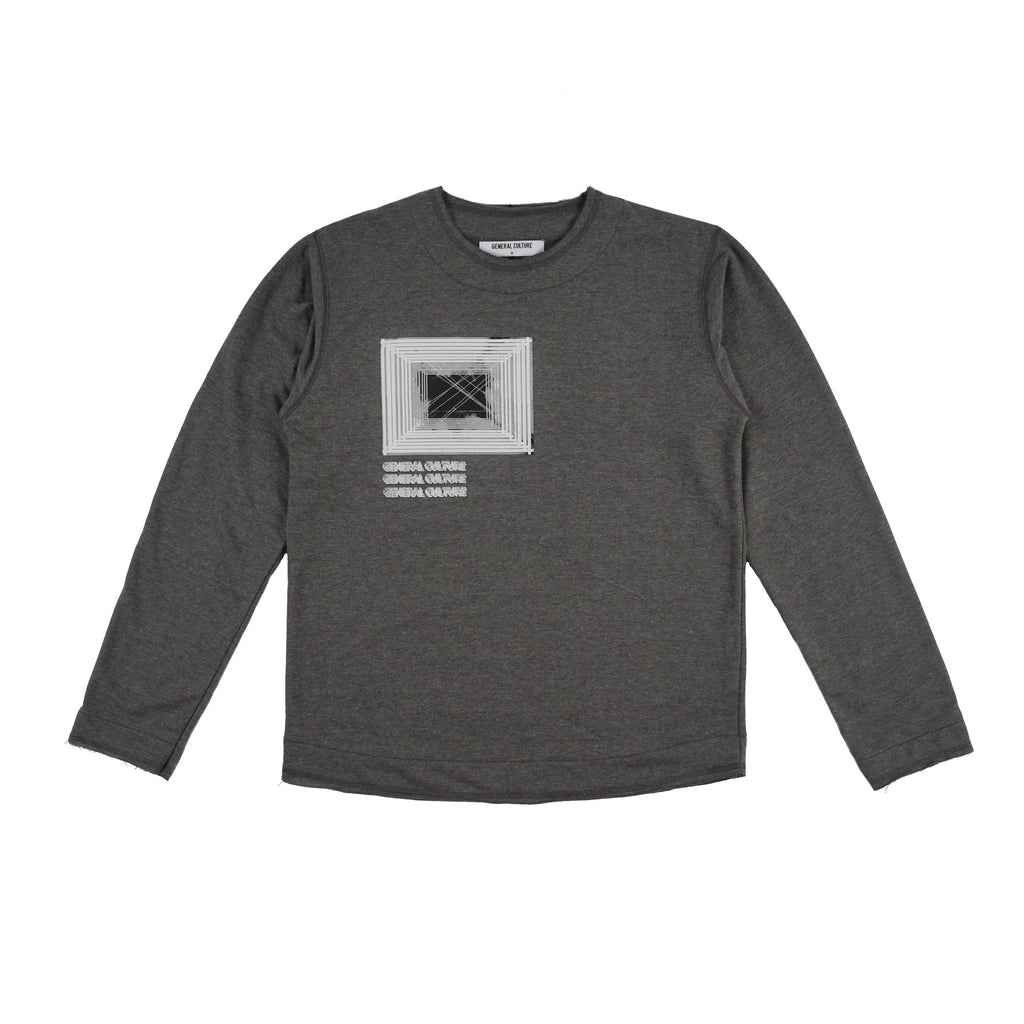 Refraction Sweatshirt / Grey
