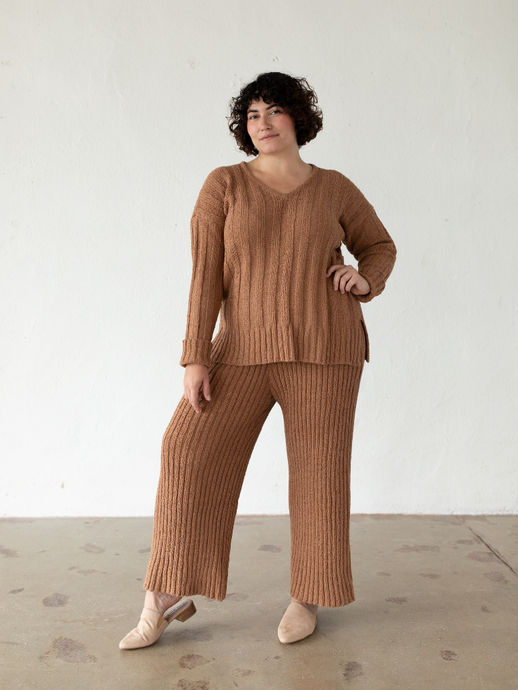 Florence Pants - Clay (M + L)