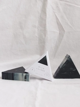 Load image into Gallery viewer, Milford Sound Triangle Soap (lavender, cypress leaf and peppermint)