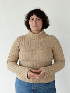 Mari Turtleneck - Sand (XS)