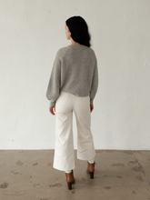 Load image into Gallery viewer, High Rise Pant in Bone