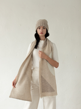 Load image into Gallery viewer, Bauhaus Scarf - Ecru (one left!)